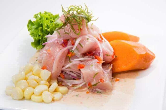 peruvian fish ceviche image