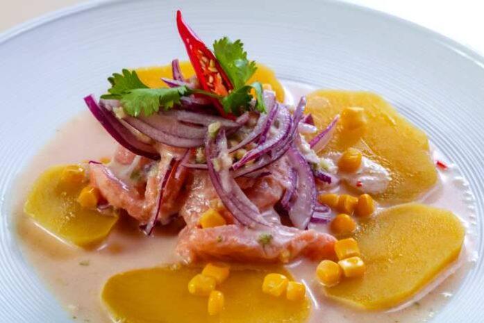 imagen plato ceviche de atun, como hacer ceviche de atun